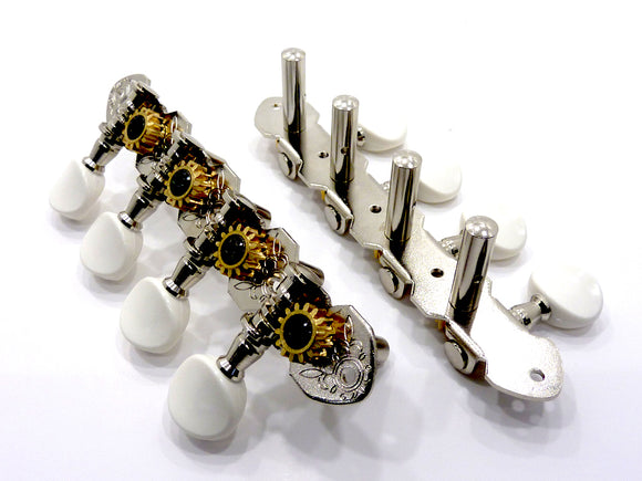 Gotoh Mandolin/Bouzouki Machine Heads Nickel M120S (Side Fitting)