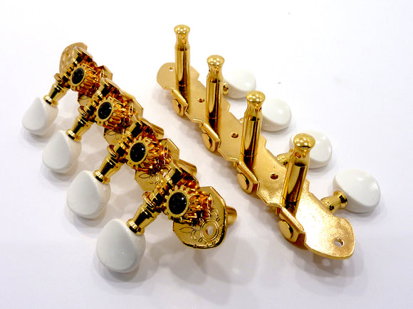 Gotoh Mandolin/Bouzouki Machine Heads Gold M120 (Back Fitting)