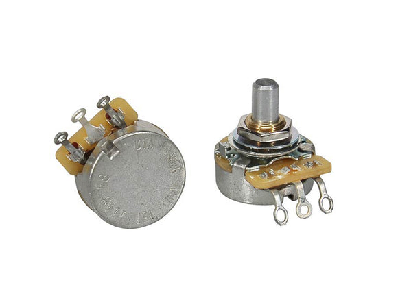 CTS Potentiometer 250K Audio Solid Shaft Short Bushing (CTS250-A57)