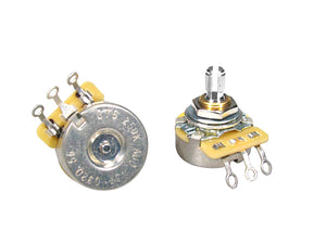 CTS Potentiometer 250K Audio Split Shaft Short Bushing CTS250-A56