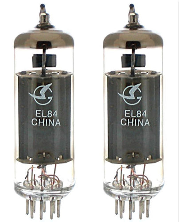 Shuguang Electron Tube EL84 Matched Pair