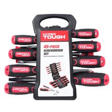 Load image into Gallery viewer, Hyper Tough 45-peice screwdriver set