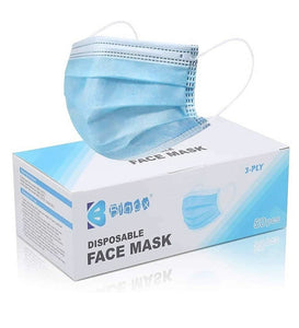 Disposable Face Mask. 50pcs