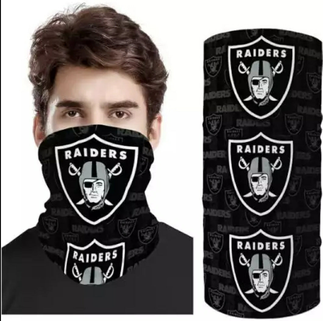 Las Vegas Raiders face sleeve