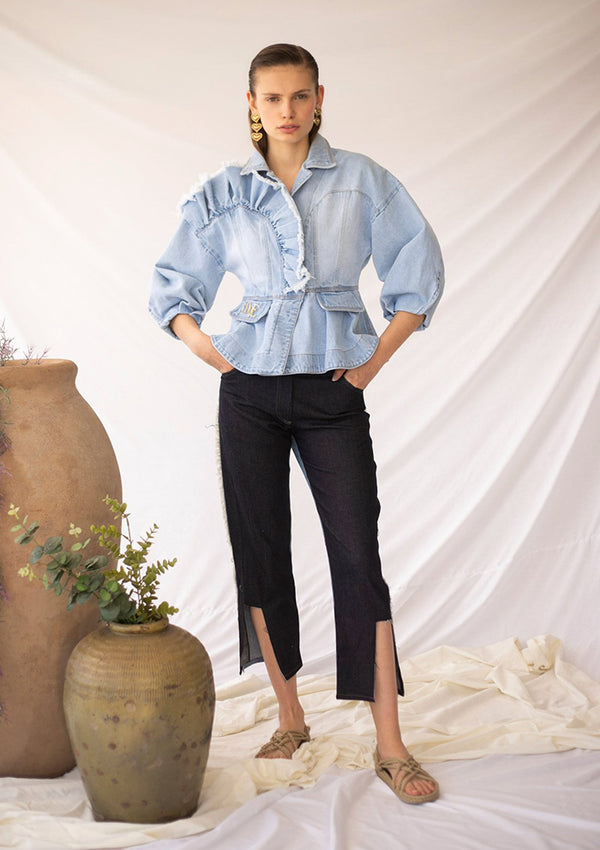 DINDI Jacket - Light Blue