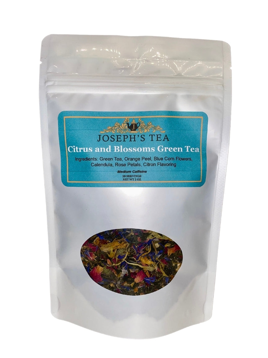 Citrus and Blossoms Green Tea (Medium Caffeine)