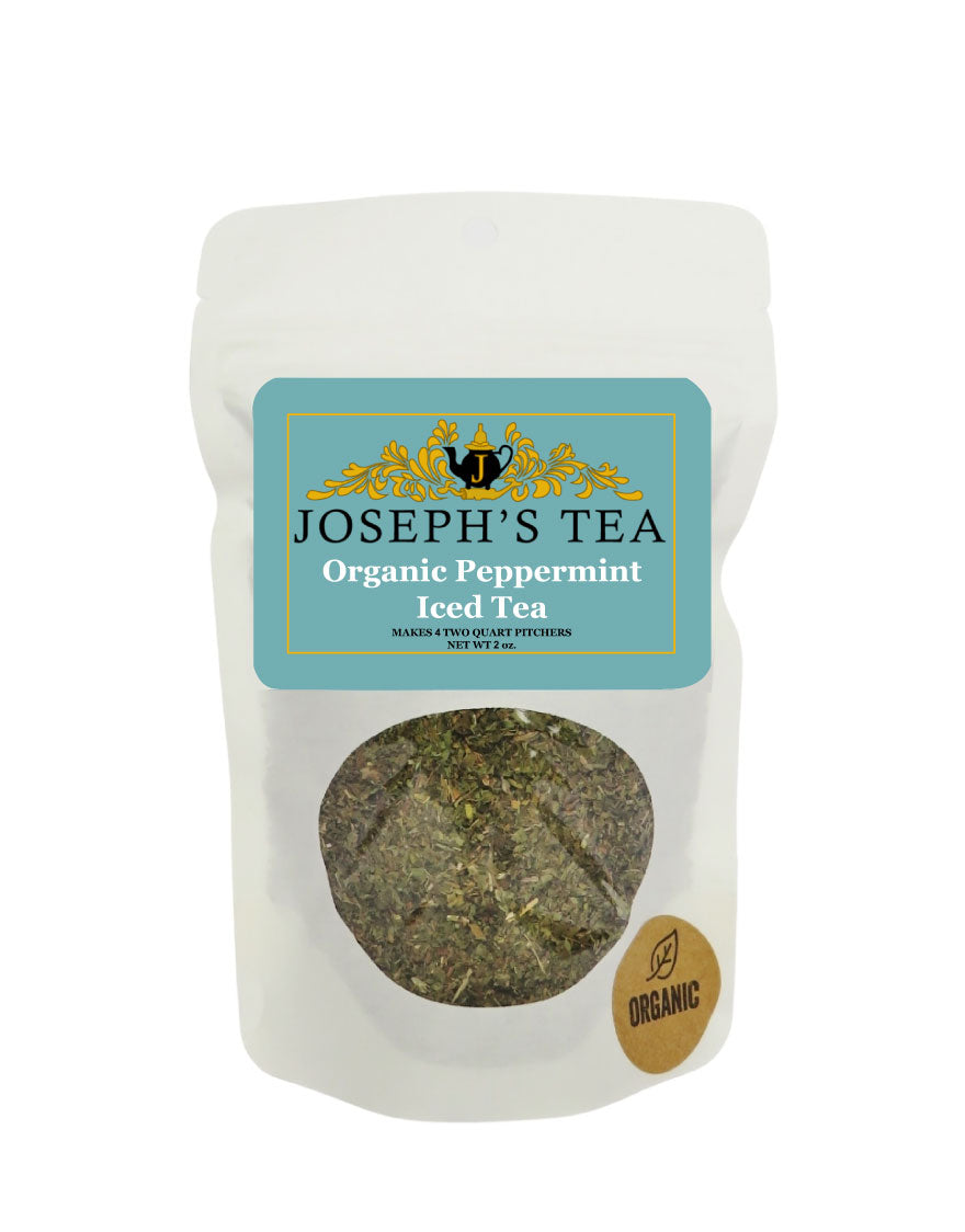 Organic Peppermint Iced Tea