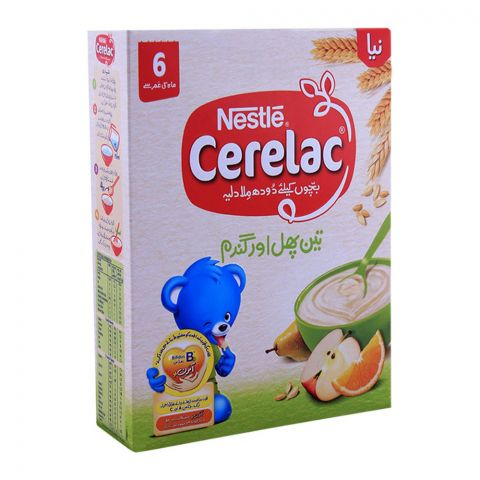 Nestle Cerelac 3-Fruits & Wheat 350g