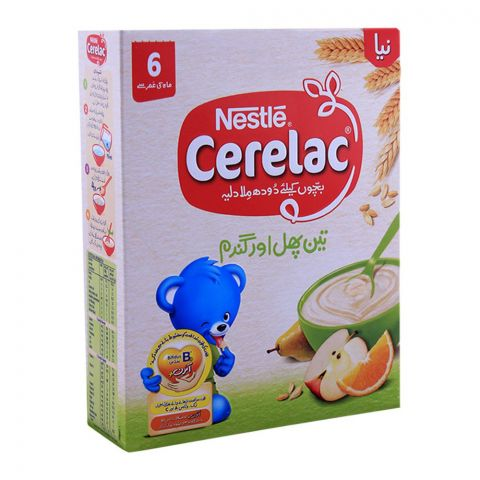 Nestle Cerelac 3-Fruits & Wheat 175g