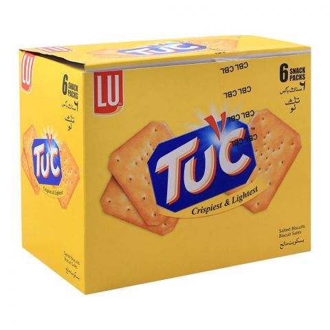 LU Tuc Biscuits, 6 Snack Packs