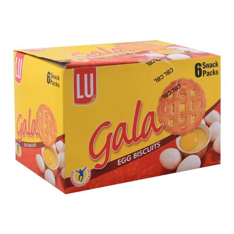 LU Gala Egg Biscuits, 6 Snack Packs