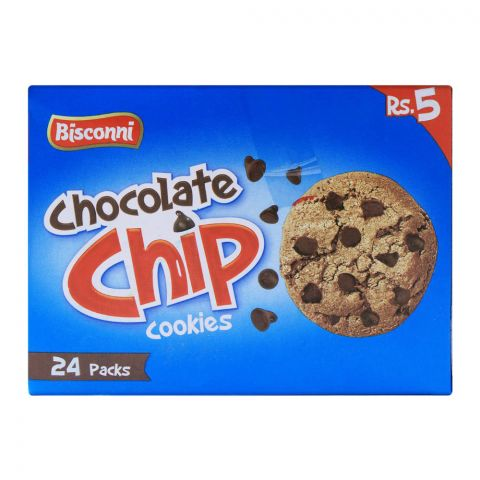 Bisconni Chocolate Chip Cookies, 24 Tikky Packs