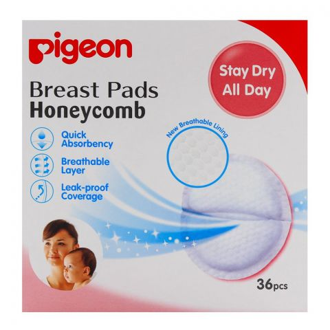 Pigeon Breast Pads Honeycomb 36-Pack Q-599