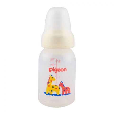 Pigeon Peristaltic Nipple Round Nursing Bottle 120ml A-26373