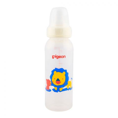 Pigeon Peristaltic Nipple Round Nursing Bottle 240ml A-26383