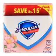 Safeguard Soap Floral Scent 3-Pack 145gm Value Pack