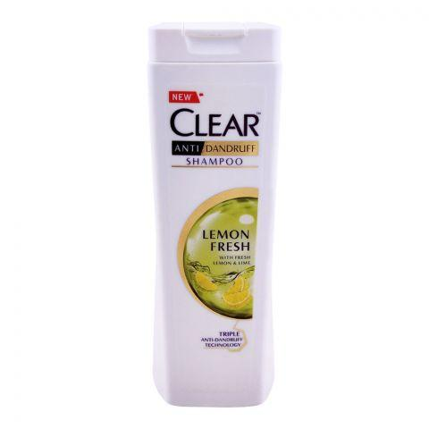 Clear Lemon Fresh Triple Anti-Dandruff Shampoo, 185ml