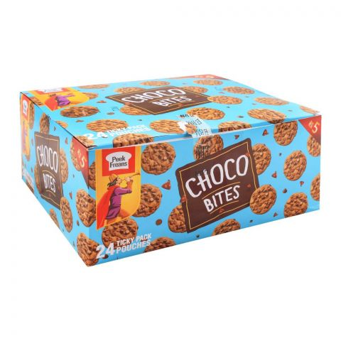 Peek Freans Choco Bites Double Biscuits, 24 Tikky Pack Pouches
