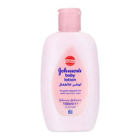 Johnson's Baby Lotion for Perfect Baby Soft Skin 100ml
