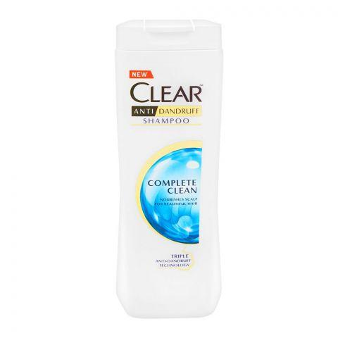 Clear Anti-Dandruff Complete Clean Shampoo, 185ml