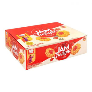 Peek Freans Jam Delight, Strawberry, 12 Snack Packs
