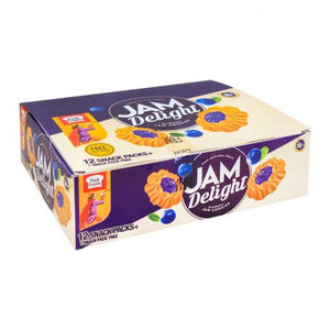 Peek Freans Jam Delight, Blueberry, 12 Snack Packs