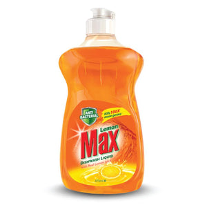 Lemon Max Anti Bacterial Dishwash Liquid 475ml