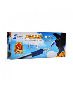 Piano Point Ball Pen Blue (Box)