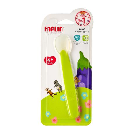 Farlin J'AiME Silicone Spoon 4+month