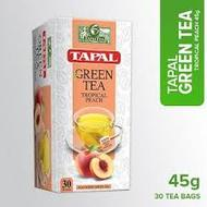 Tapal Green Tea Peach 45g