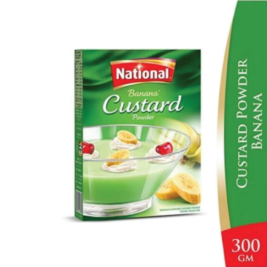 National Banana Custard 300g
