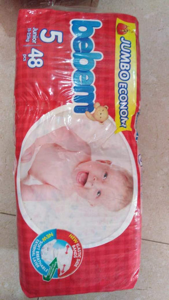 Bebem Jumbo Diaper 5 Junior 11 - 25 Kg (48)