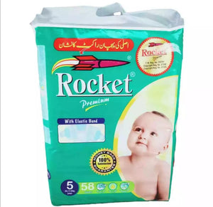 Rocket Premium 5 Junior (11 - 25Kg) 58 Pcs