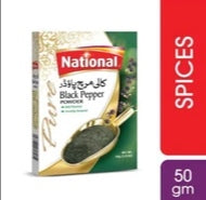 National Black Pepper Powder 50g