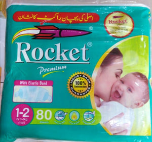 Rocket Premium 1 - 2 Mini (3 - 6 kg) 80 Pcs