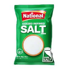 National lodized Refined Salt