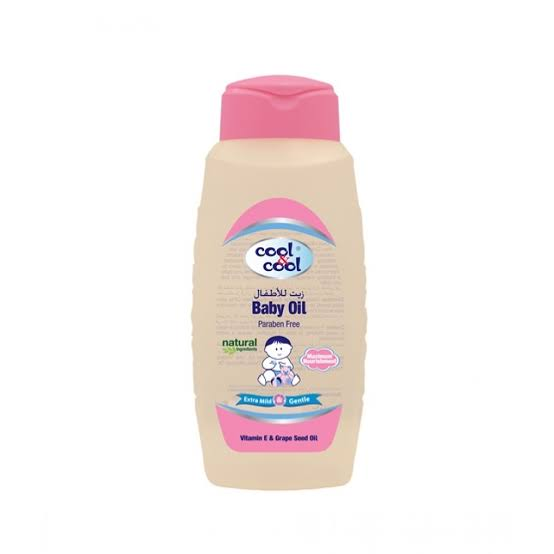 Cool & Cool Baby Oil 250ml