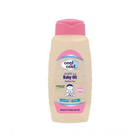 Cool & Cool Baby Oil 60ml