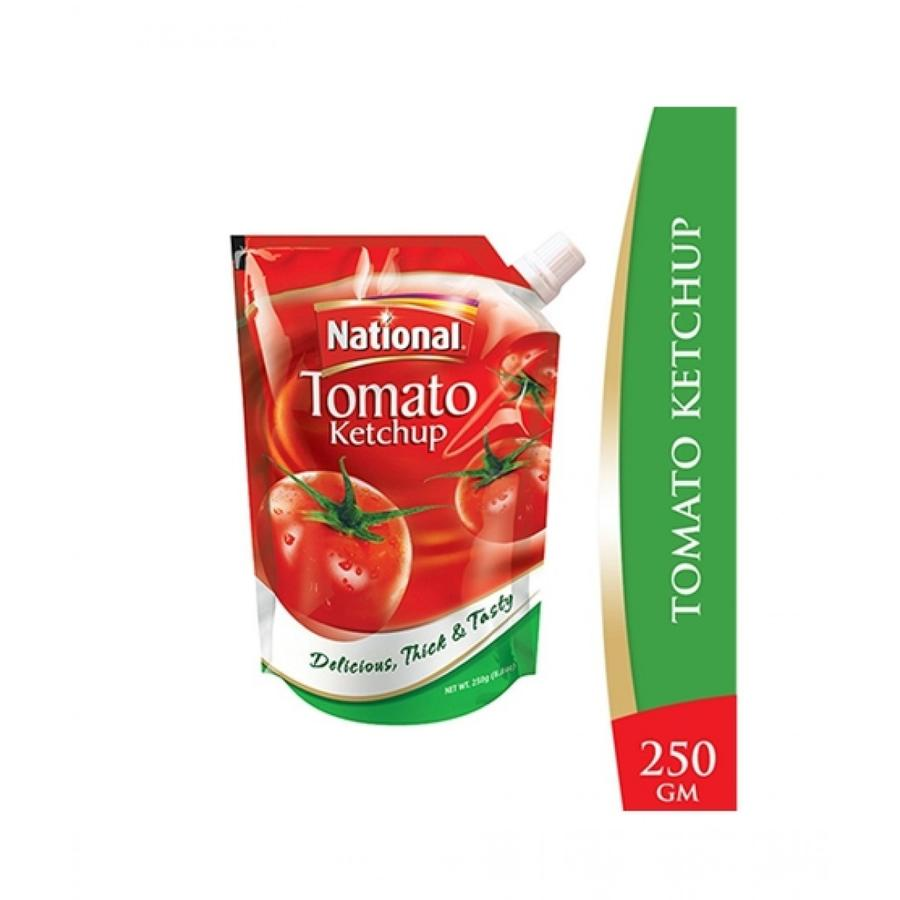 National tomato ketchup 250g