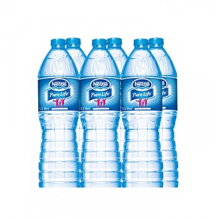 Nestle Pure Life Drinking Water 1.5 Litres Pack of 6