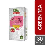 Tapal Green Tea Strawberry bliss 30tea bags