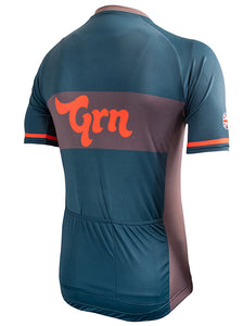 The Real Grn Cycle Jersey - Teal