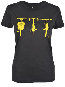 Three Bikes Tee Women's
