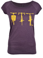 Load image into Gallery viewer, Three Bikes Tee Women's