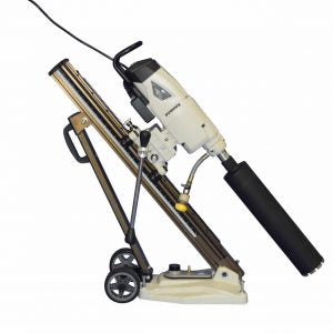 "EK311-220 w/ Angle Stand: 3-speed handheld electric drill 3.5 HP motor 12"" max dia with angle stand"