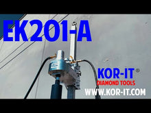 Load and play video in Gallery viewer, EK201-A Pneumatic Core Drill