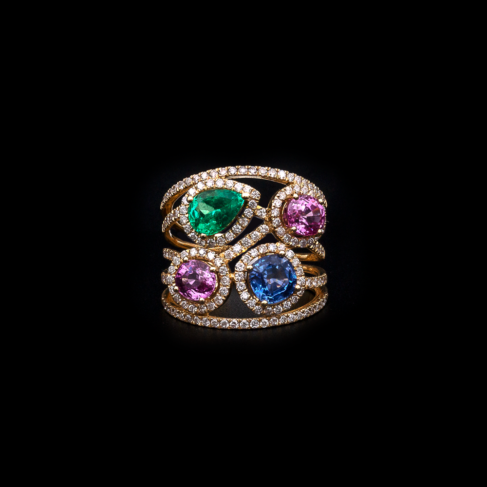 Colored Ring