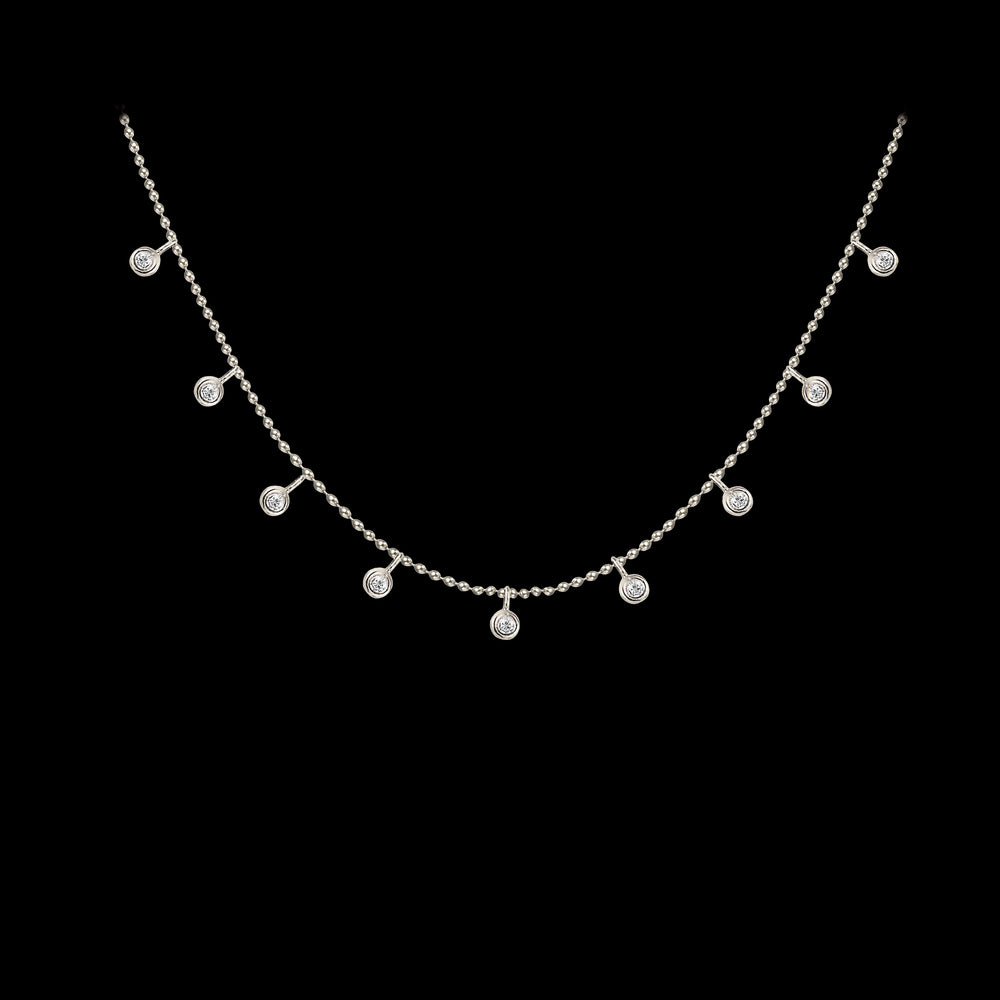 Load image into Gallery viewer, Diamond Detail Necklace