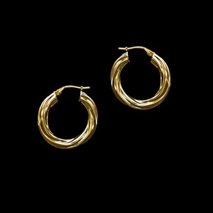 Load image into Gallery viewer, Argollas de Oro Amarillo