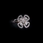 Four Petal Flower Ring
